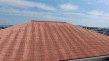施工前カラーベスト屋根